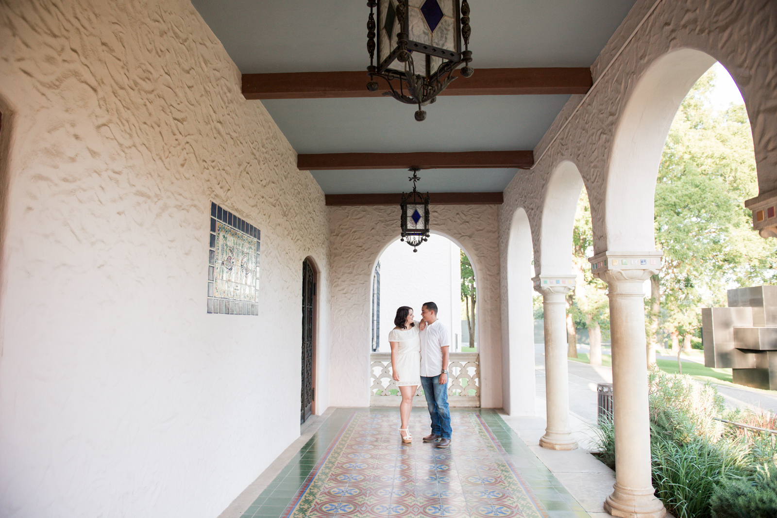 Engagements at the McNay | Rememory Photography-19